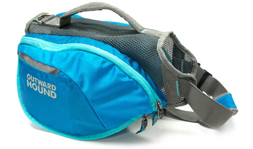 outward hound backpack interior